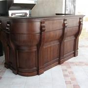 Деревянная мебель для ресторанов фото