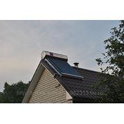 Установка солнечных водонагревателей фото