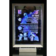 Поздравительные открытки с лазерной гравировкой в цвете фото
