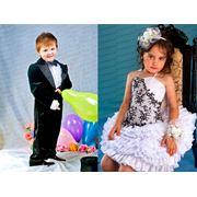 Прокат и пошив нарядных платьев для девочек и костюмов для мальчиков фото