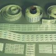 Печать на гарантийных стикерах фото
