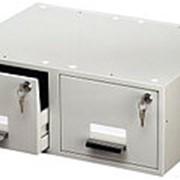 Durable Картотека Card Index Box A5 DUO(двойная), 1500 карточек Цвет Серый фото