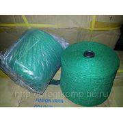 Х-нить (термоспекаемая пряжа) , зелёная (Малайзия) фото