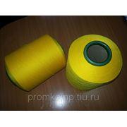 Х-нить (Spandex 70\150\96F\2), п\эф жёлтая (Польша) фото