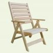 Кресло раскладное из липы фото