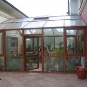 Зимние сады и оранжереи из алюминия фото