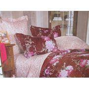Комплект постельного белья 1,5 сп сатин Сайли Д фото