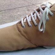 Обувь из искусственной кожи мужская фото