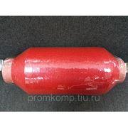 Нить полиамидная круч. 93,5 текс 1х2, красная фото
