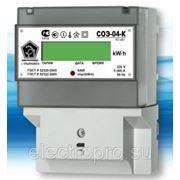 Электрический cчетчик СОЭ-04-К многотарифный фото