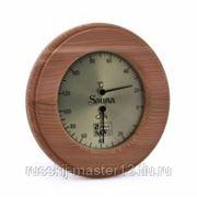 Термогигрометр Круглый, SAWO 231-THD (кедр) фото