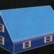 Двухскатная крыша фото
