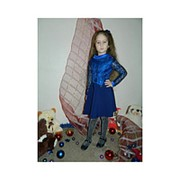 Платье для девочки с гипюром фото