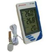 KT-908 комнатно-уличный термометр с влажностью