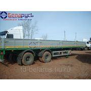 полуприцеп бортовой грузоподъемностью 28 тонн МАЗ-938660-044 в наличии в Красноярске фото