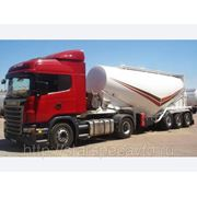 Услуги по перевозке цемента, сыпучих грузов фото