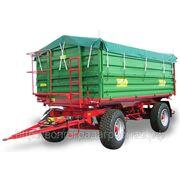 Сельскохозяйственный трехсторонний прицеп-самосвал DB Metaltech DB10000