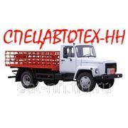 КТ-602-01 на шасси ГАЗ-3309 для перевозки газовых баллонов фото