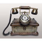 KIt) телефон кноп. (дерево, метал) (763560)