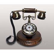 KIt) телефон кноп. (дерево) (813719) фото