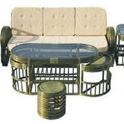 Комплект плетеной мебели Maхi 01-06 фото