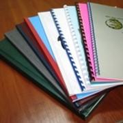 Переплет дипломов, книг фото