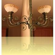 Светильники кованые фото