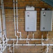 Установка котлов и систем отопления фото
