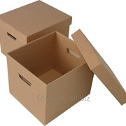 Коробки из гофрокартона с логотипом фото