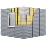 Монтаж вентилируемых фасадов, фасад из металлосайдинга фото