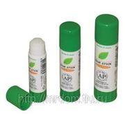 Клей-карандаш glue stick 15 грамм, корпус белый с зеленым (821915) фото