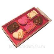 Шоколадный набор ластиков 6 шт в подар. коробке (815101)