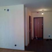 Оштукатуривание стен слоем до 25 мм.