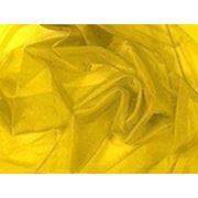 Органза ярко-желтая фото