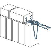 Хомуты для вертикальной кладки фото