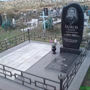 Памятники гранитные под 2-ое захоронение фото