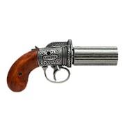 Револьвер Пепербокс 6 стволов, Англия, 1840 г фото