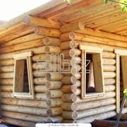 Дома срубы деревянные. Крым