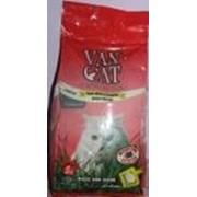 Комкующийся наполнитель Van Cat Lavender без пыли с ароматом Лаванды, 5 кг. фото