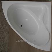 Ванна акриловая угловая КМТ Каное 150 X 150 с ножками и панелью фото