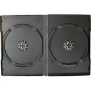 Сумки, боксы для дисков CD, DVD DVD box - 2 диска черный фото