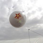 Аэростат 1,5 м для выставки Kadex 2012 фото