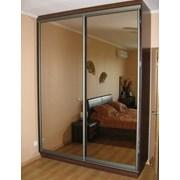 Шкаф-купе с зеркалами в рассрочку под заказ фото