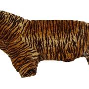 Костюм велюровый для собаки Тигр фото