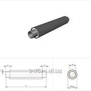 Труба стальная в полиэтиленовой трубе-оболочке d=32 мм, L´=150 мм
