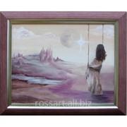 Картина Маслом Мечта фото