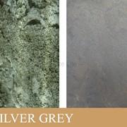 Каменный шпон на просвет (Translucent) Silver Grey фото