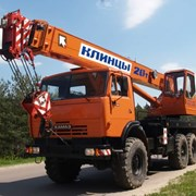 Аренда автокрана, крана Клинцы КС-65719-1К фото
