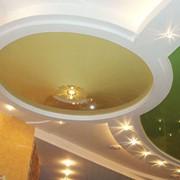 Комбинированные потолки фото