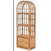 Мебель из ротанга Этажерка Цвет: Мед / Оливка / Коньяк, продажа в Крыму фото